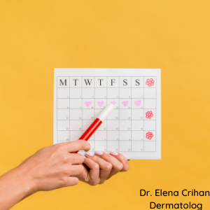 dermatolog_Elena_Crihan_menstruatie_acnee_2